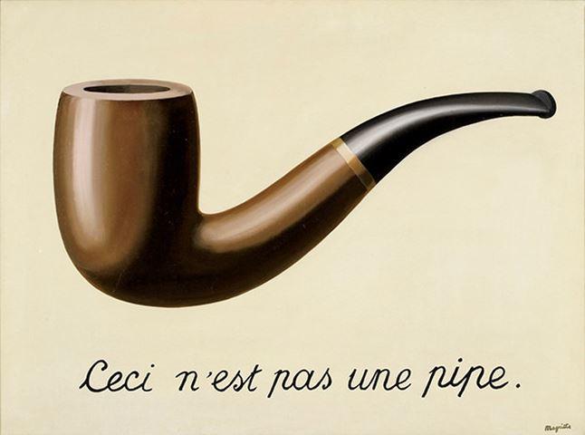 Рене Магритт.Вероломство образов. 1928
