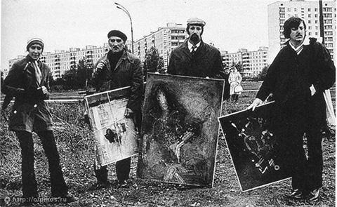 Бульдозерная выставка 15.09.1974 г.